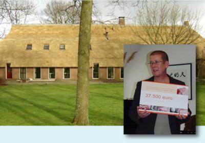 Campagne rieten dak Noorder Poort