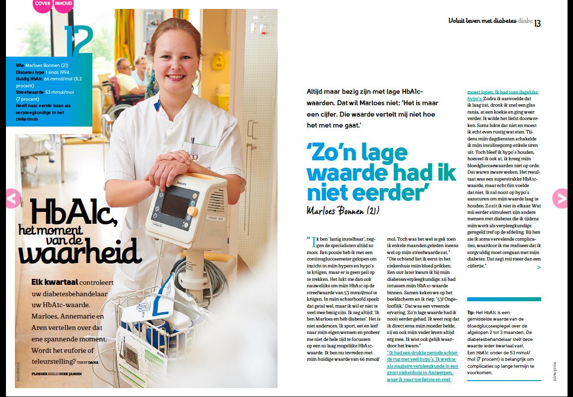 Maja Blauw pitchbegeleiding voor ledenmagazine
